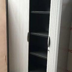 Armoire métallique Samas grise